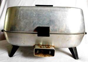 Vintage Sunbeam Electric Skillet Fry Pan Immersible Vented Fryer