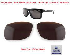 Polarized Replacement Lenses For-Oakley Holbrook 9102 Sunglasses Bronze Premium