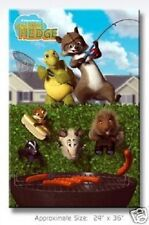 2006 DREAMWORKS OVER THE HEDGE FISHING POSTER 22X34 NEW