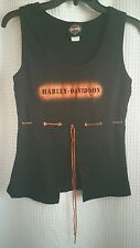 Harley Davidson Black Women's Sz M Tank Top South Charleston, WV West Virginia