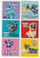 """25 Puppy Dog Pals Stickers, 2.5""""x2.5"""" each, Party Favors"""