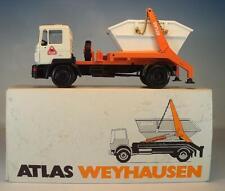 Conrad 1/50 MAN Atlas Weyhausen Absetzkipper Werbemodell OVP #1497