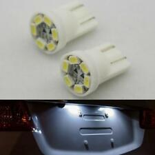 2pcs T10 194 2825 168 HID White 1210 6 SMD LED Bulbs For License Plate Lights