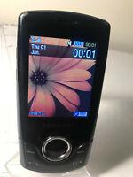 Samsung GT S3100 - Charcoal Black (Unlocked) Mobile Phone Slider