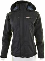BERGHAUS Womens Over Jacket Size 8 Small Black Polyamide  CZ10