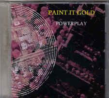 Powerplay-Paint It Gold Promo cd single