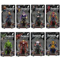 """Kids Toy Marvel Avengers Endgame Iron Man Thanos Thor Captain 7"""" Action Figures"""