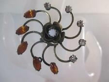 Dannijo  Zura Swarovski Flower Statement Ring 6 NWOT $295
