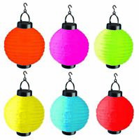 Solar Powered Party Festival LED Lantern Garden Patio Lawn Outdoor Bright NEW
