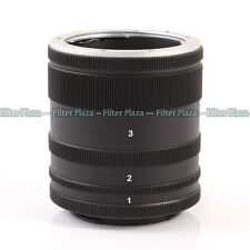 Macro Extension Tube Ring For Sony E Camera Lens NEX-7 6 A6000 A5100 A7 A7R A7S