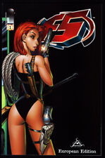 F5 #1 EUROPEAN EDITION TONY DANIEL VARIANT COVER Tomb Raider The Tenth Spawn NM