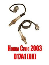 Upstream & Downstream O2 Sensors for Honda Civic 2003 D17A1 (DX) Read List!!!