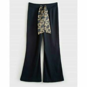 AVON ~ Ladies Wide Leg, Tie Front Trousers ~ Size 14 (Brand New Wrapped)