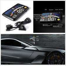 "5.5"" HUD Head-Up Display OBD2 or EOBD Car Dashboard Projector Speed Shift Gear"