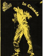 Elvis Presley: GOLD SUIT laminated fanzine COVER (reprint for ELVIS IN CANADA)
