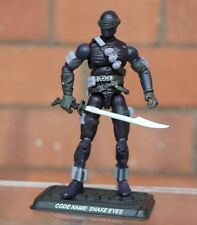 Fuerza de acción/Gi Joe Snake Eyes 25th aniversario Moderna