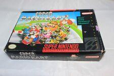 Super Mario Kart (Super Nintendo, 1992) Complete in Box Not Mint