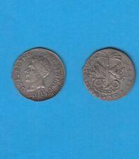 République D' HaÏti   J.P  BOYER Président  25 Centimes argent  AN 15 1818