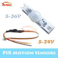 DC 5V-24/36V 1/5A PIR Infrared Motion Sensor Detector LED Light Strip Smart Home