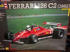 1/12 REVELL FERRARI 126 C2 (1982)-KIT #07229