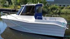 Motorboot ,Pilothaus ,Angelboot Freizeitboot  SIL 540