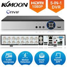 KKmoon 4/8/16Ch 1080P AHD DVR 5In1 CCTV Video Recorder Network Surveillance M0E5