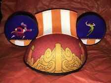Disney Parks Peter Pan And Hook Pirates Mickey Ear Ears Hat - Adult Size NEW