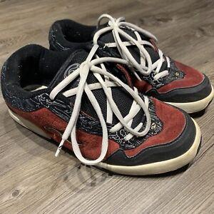 Adio Kenny Anderson V1 Skate Shoes Red Rare Mens Sz 13 Vtg 90s Osiris D3 Puffy