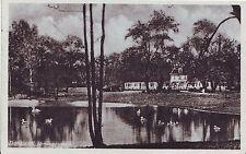 Germany AK Darmstadt - City Park old unused postcard