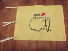 2005 Augusta National Masters Pin Flag Embroidered PGA Golf