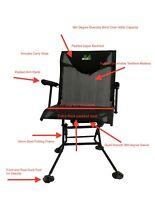Deer Turkey Hunting Blind DELUXE Chair Swivel 360 Degree AllAboutAntlerZ