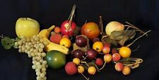 assorment of fake fruits artificial display decor crafts