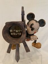 Rare Disney Charpente Mickey Mouse with Projector Frame - 1990's