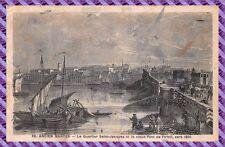 Cartolina Postale Antico Nantes - le Quartiere saint Jacques