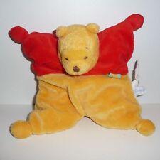 Doudou Ours Winnie Disney - Jaune Rouge