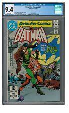 Detective Comics #521 (1982) Bronze Age Green Arrow Appearance CGC 9.4 EB227