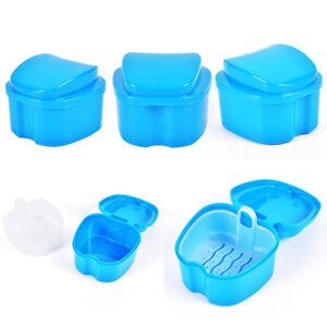 Boîte de prothèse dentaire Boîte de rangement des dents Panier de rinçage d Rasg