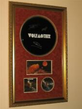 WOLFMOTHER - FULLY SIGNED & CUSTOM FRAMED LOGO STYLE DRUMHEAD.