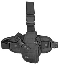Black Tactical Right Handed Drop Leg Gun Holster BB Airsoft Pistol Handgun 5921