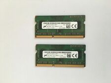 8GB 2 x 4GB  DDR3 Memory Laptop RAM Modules PC3L-12800 1600MHz SODIMM Notebook