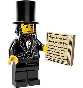The Lego Movie Collectible Minifigures Series 12 #5 President Abraham Lincoln
