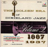 45TRS VINYL 7''/ RARE AMERICAN EP GOLDEN ERA DIXIELAND JAZZ VOL. 2 / SUPERBE