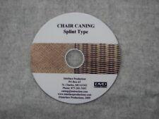 Chair Weaving Dvd - Caning Dvd - Splint Type