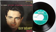 GUY BEART 45 EP s/t FRENCH pressing PHILIPS label w/ PIC SLV