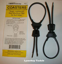 Breakaway Nylon Coasters - Tough Universal Reel Mounting Device.