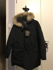 Women's Woolrich Artic Parka Down Jacket -  Detachable Fur Size XL*New With Tag*