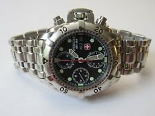 WENGER GST SEA 78189 AUTOMATIC SWISS CHRONOGRAPH WATCH VALJOUX 7750 MOVEMENT