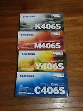 Brand New Genuine Samsung CLP-36x/CLX-330x Printer Series C41x/C46x Toner Set