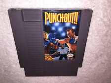 Punch-Out (Nintendo Entertainment System, 1990) NES Game Cartridge Excellent!