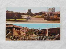 Vintage Postcard: Frontier Motel, Tucson Az